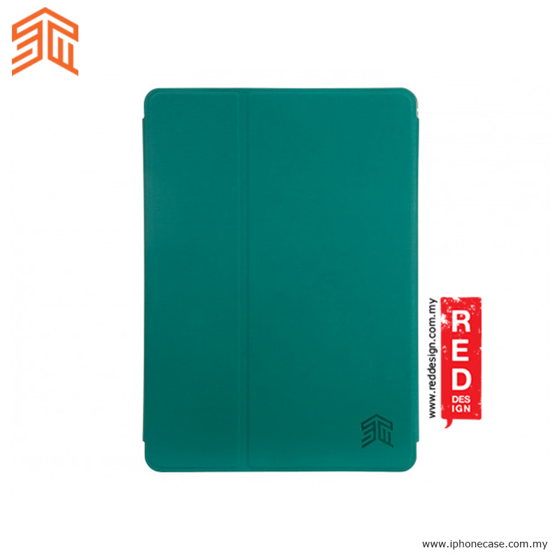 Picture of Apple iPad Pro 9.7 Case | STM Studio Protection Stand Case for Apple iPad 9.7 2017 iPad Pro 9.7 iPad Air iPad Air 2- Green