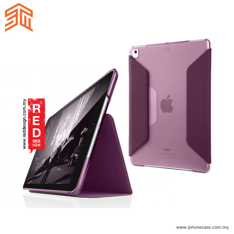 Picture of STM Studio Protection Stand Case for Apple iPad 9.7 2017 2018 iPad Pro 9.7 iPad Air iPad Air 2- Purple Apple iPad Pro 9.7- Apple iPad Pro 9.7 Cases, Apple iPad Pro 9.7 Covers, iPad Cases and a wide selection of Apple iPad Pro 9.7 Accessories in Malaysia, Sabah, Sarawak and Singapore