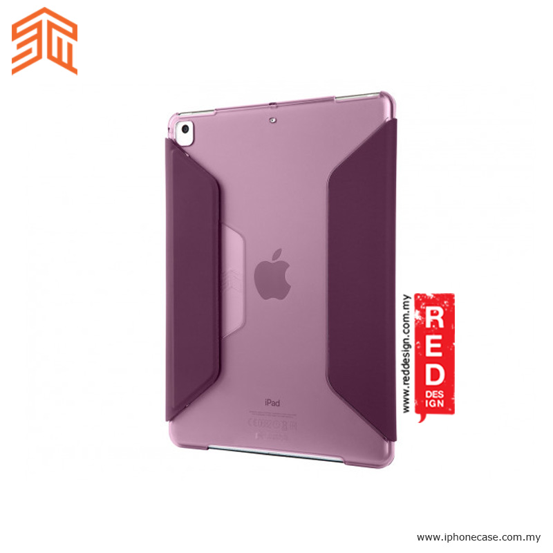 Picture of Apple iPad Pro 9.7 Case | STM Studio Protection Stand Case for Apple iPad 9.7 2017 2018 iPad Pro 9.7 iPad Air iPad Air 2- Purple