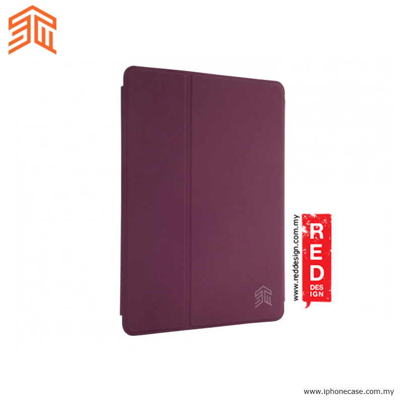 Picture of Apple iPad Pro 9.7 Case | STM Studio Protection Stand Case for Apple iPad 9.7 2017 iPad Pro 9.7 iPad Air iPad Air 2- Purple