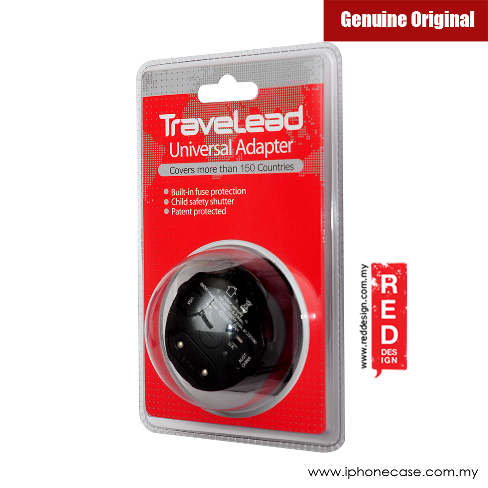 Picture of TRAVELEAD World Travel Adapter (Black)