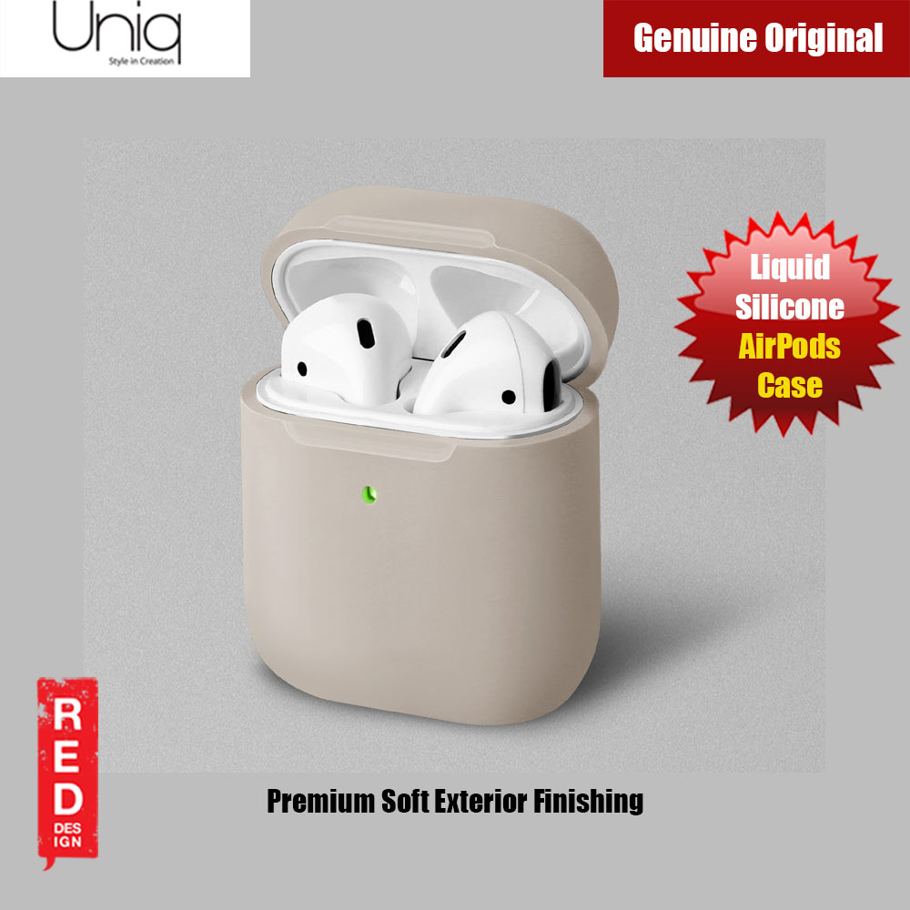 Picture of Uniq Lino Airpod Liquid Silicone Case for Airpods 1 and Airpods 2 (Beige) Apple Airpods 2- Apple Airpods 2 Cases, Apple Airpods 2 Covers, iPad Cases and a wide selection of Apple Airpods 2 Accessories in Malaysia, Sabah, Sarawak and Singapore