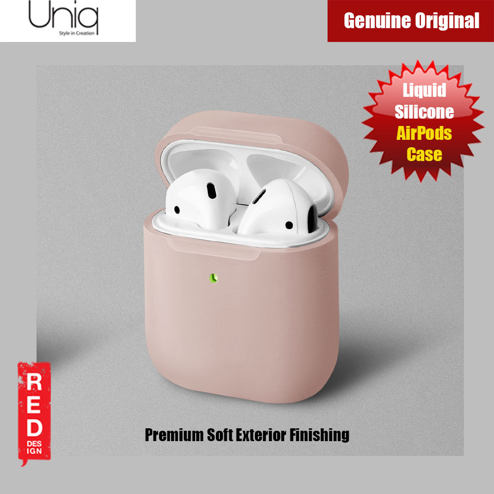 Picture of Uniq Lino Airpod Liquid Silicone Case for Airpods 1 and Airpods 2(Blush) Apple Airpods 2- Apple Airpods 2 Cases, Apple Airpods 2 Covers, iPad Cases and a wide selection of Apple Airpods 2 Accessories in Malaysia, Sabah, Sarawak and Singapore