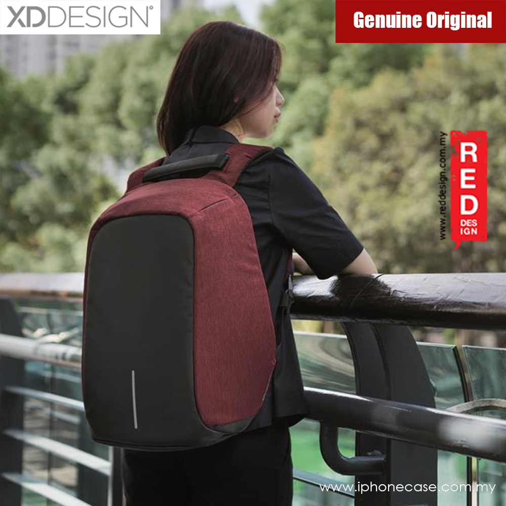 Picture of XD Design Bobby Anti Theft Backpack (Red) Red Design- Red Design Cases, Red Design Covers, iPad Cases and a wide selection of Red Design Accessories in Malaysia, Sabah, Sarawak and Singapore