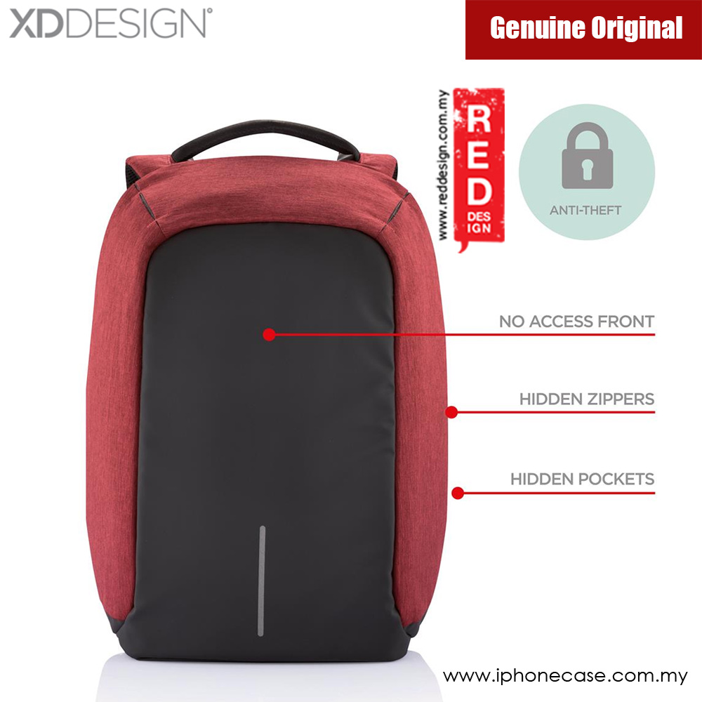 Picture of XD Design Bobby Anti Theft Backpack (Red)