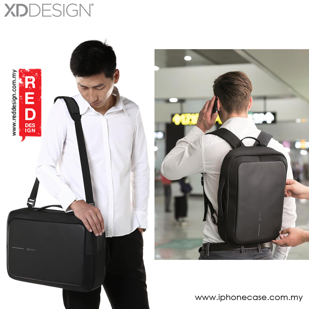 Picture of XD Design Bobby Bizz The Business Briefcase and Backpack (Black) Red Design- Red Design Cases, Red Design Covers, iPad Cases and a wide selection of Red Design Accessories in Malaysia, Sabah, Sarawak and Singapore
