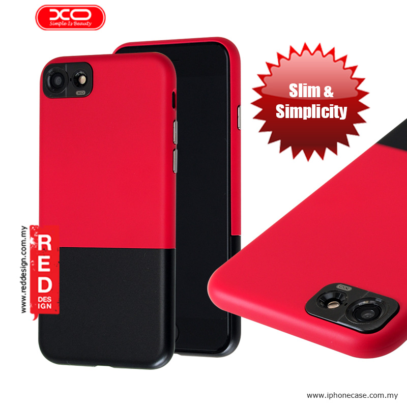 Picture of XO Sui Bian Series Slim Slide Case for Apple iPhone 7 4.7 - Red Black Apple iPhone 7 4.7- Apple iPhone 7 4.7 Cases, Apple iPhone 7 4.7 Covers, iPad Cases and a wide selection of Apple iPhone 7 4.7 Accessories in Malaysia, Sabah, Sarawak and Singapore