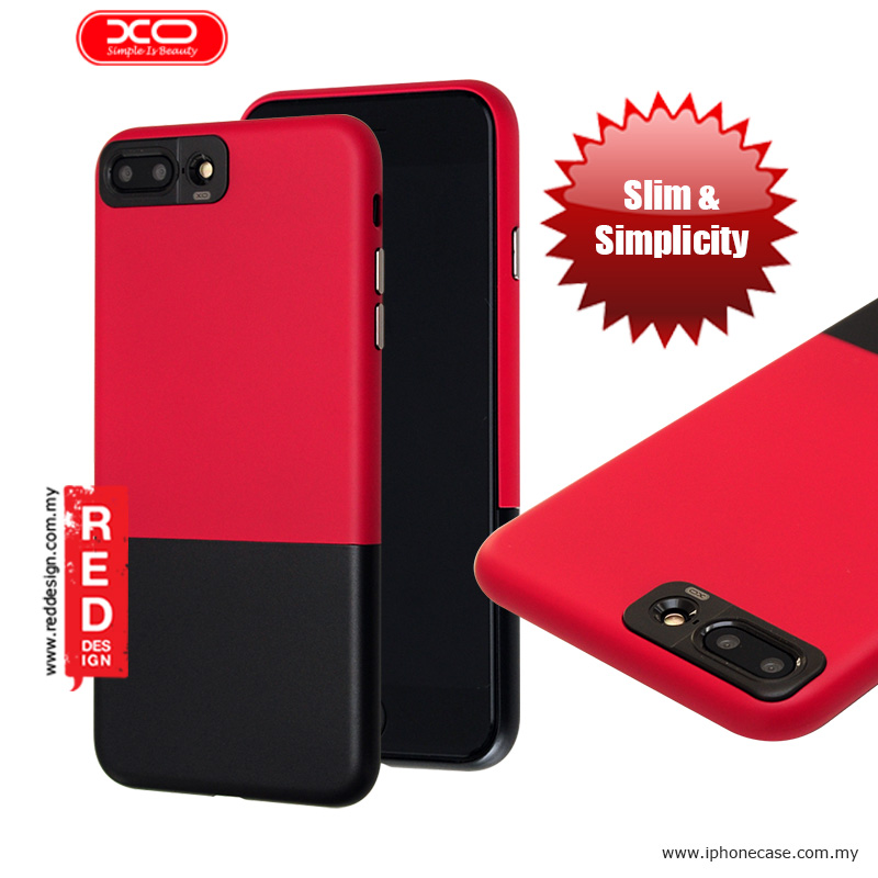 Picture of XO Sui Bian Series Slim Slide Case for Apple iPhone 7 Plus 5.5 - Red Black Apple iPhone 7 Plus 5.5- Apple iPhone 7 Plus 5.5 Cases, Apple iPhone 7 Plus 5.5 Covers, iPad Cases and a wide selection of Apple iPhone 7 Plus 5.5 Accessories in Malaysia, Sabah, Sarawak and Singapore