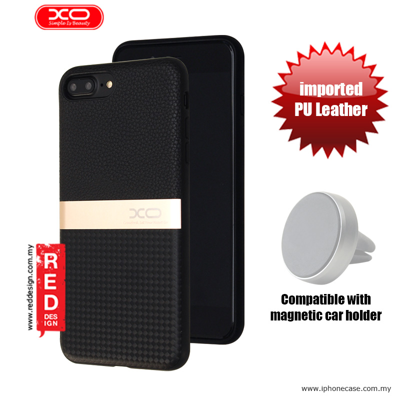 Picture of XO Ya Jue Series Premium PU Leather Case for Apple iPhone 7 Plus iPhone 8 Plus 5.5 - Black Apple iPhone 8 Plus- Apple iPhone 8 Plus Cases, Apple iPhone 8 Plus Covers, iPad Cases and a wide selection of Apple iPhone 8 Plus Accessories in Malaysia, Sabah, Sarawak and Singapore