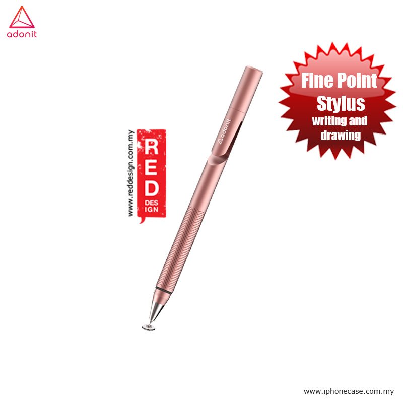 Picture of Adonit Jot 2.0 Pro Fine Point Stylus with Aluminium and Steel Body - Rose Gold Apple iPad Pro 9.7- Apple iPad Pro 9.7 Cases, Apple iPad Pro 9.7 Covers, iPad Cases and a wide selection of Apple iPad Pro 9.7 Accessories in Malaysia, Sabah, Sarawak and Singapore