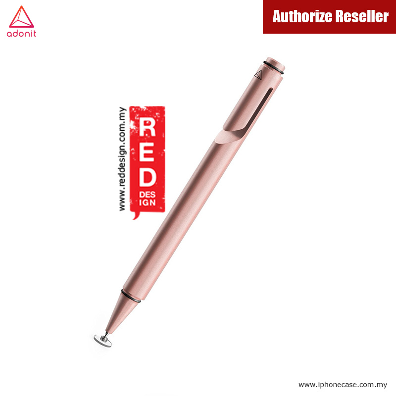 Picture of Apple iPad Pro 9.7  | Adonit Jot Mini 3.0 Fine Point Stylus with Aluminium and Steel Body - Rose Gold