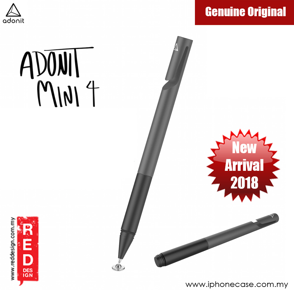 Picture of Adonit Mini 4 Precision Disc Stylus Compatible to All Touchscreens (Dark Gray) Samsung Galaxy Note 8- Samsung Galaxy Note 8 Cases, Samsung Galaxy Note 8 Covers, iPad Cases and a wide selection of Samsung Galaxy Note 8 Accessories in Malaysia, Sabah, Sarawak and Singapore