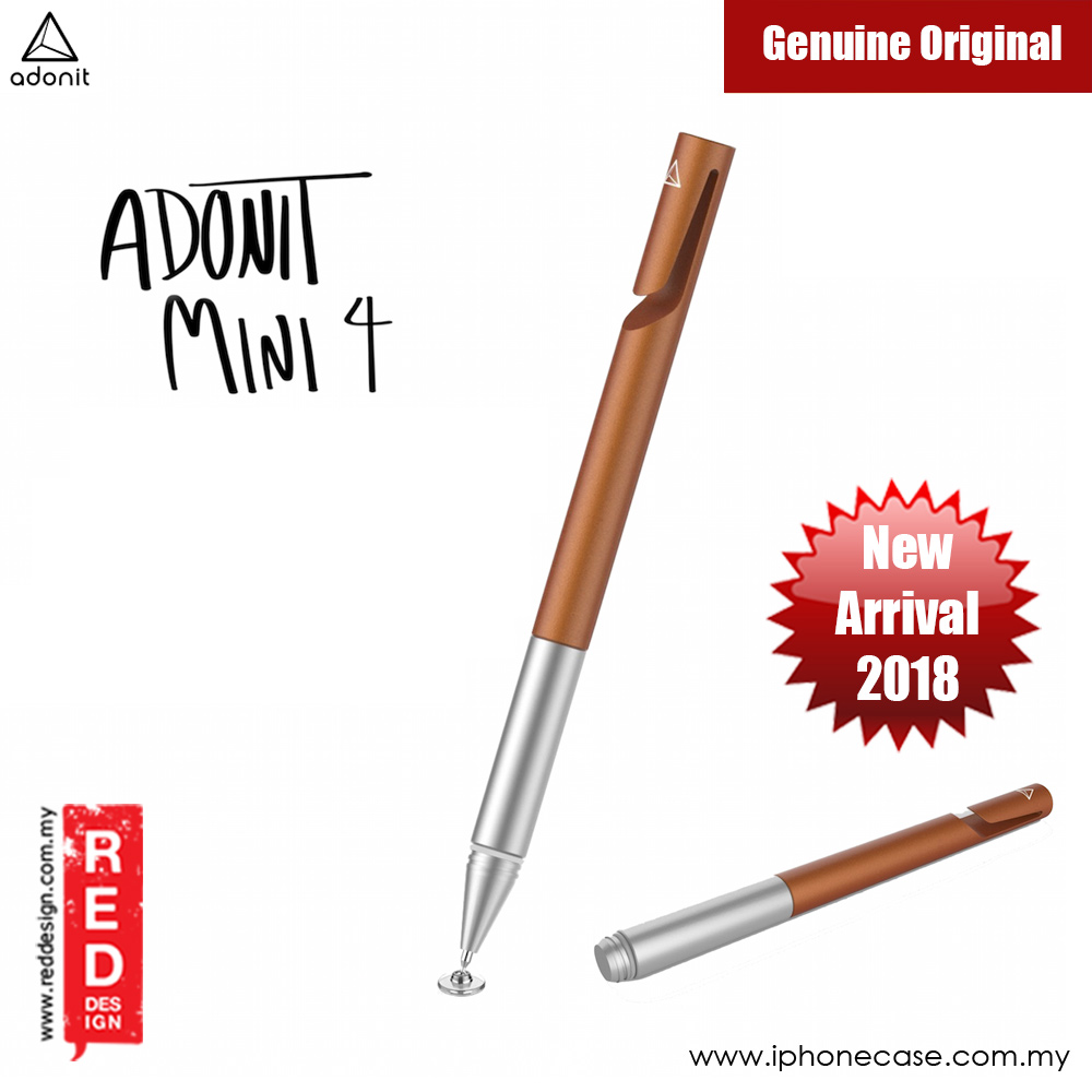 Picture of Adonit Mini 4 Precision Disc Stylus Compatible to All Touchscreens (Orange) Samsung Galaxy Note 8- Samsung Galaxy Note 8 Cases, Samsung Galaxy Note 8 Covers, iPad Cases and a wide selection of Samsung Galaxy Note 8 Accessories in Malaysia, Sabah, Sarawak and Singapore