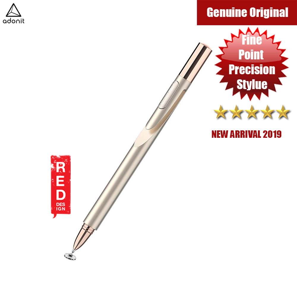 Picture of Adonit Jot Pro 4 A Luxury High-Precision Disc Stylus for iPad iPhone Xs Max Galaxy Fold Android Kindle Windows Tablets and All Touchscreens (Gold) Apple iPad 2- Apple iPad 2 Cases, Apple iPad 2 Covers, iPad Cases and a wide selection of Apple iPad 2 Accessories in Malaysia, Sabah, Sarawak and Singapore