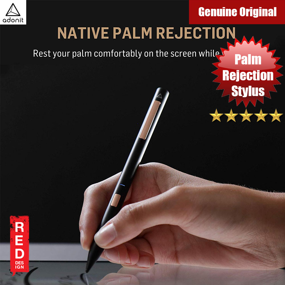 Picture of Adonit NOTE Stylus Natural Palm Rejection Stylus for iPad Pro 3rd Gen iPad 6th Gen iPad Air 3rd Gen iPad Mini 5th Gen (Black) Apple iPad Air 3rd Gen 10.5 2019- Apple iPad Air 3rd Gen 10.5 2019 Cases, Apple iPad Air 3rd Gen 10.5 2019 Covers, iPad Cases and a wide selection of Apple iPad Air 3rd Gen 10.5 2019 Accessories in Malaysia, Sabah, Sarawak and Singapore