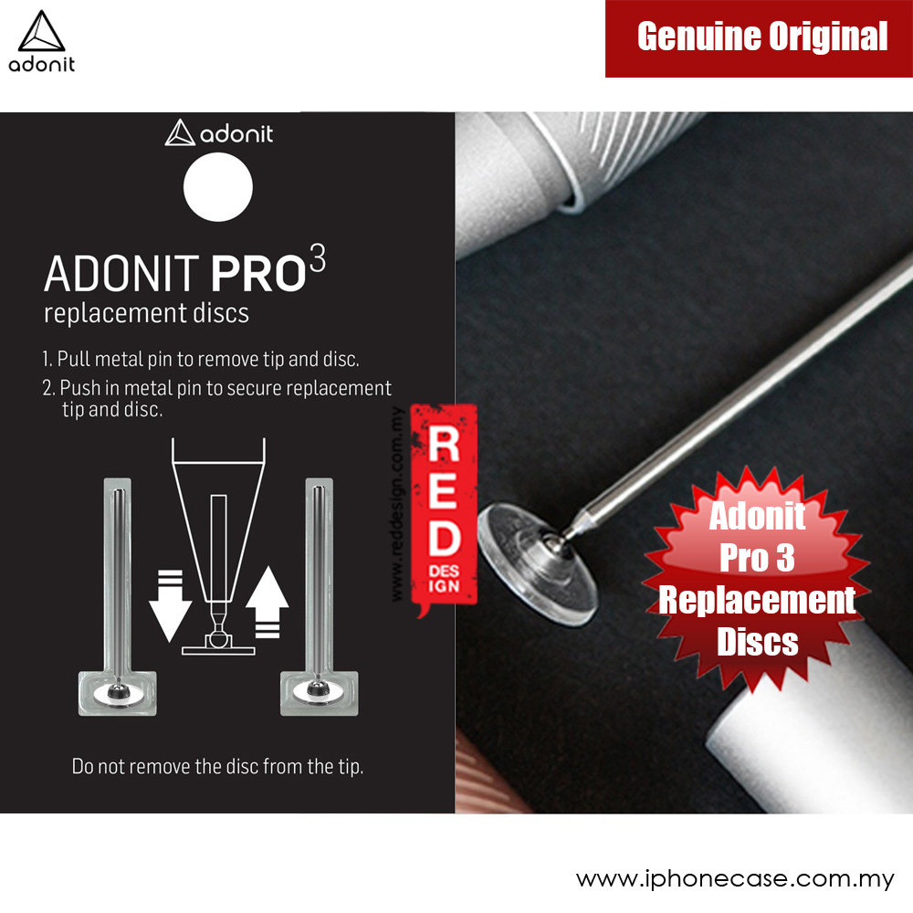 Picture of Adonit Replacement Disc Kit Pro 3 ADRDK for Mini 3 Pro 3 Pro 4 (2 pcs) Apple iPad 2- Apple iPad 2 Cases, Apple iPad 2 Covers, iPad Cases and a wide selection of Apple iPad 2 Accessories in Malaysia, Sabah, Sarawak and Singapore