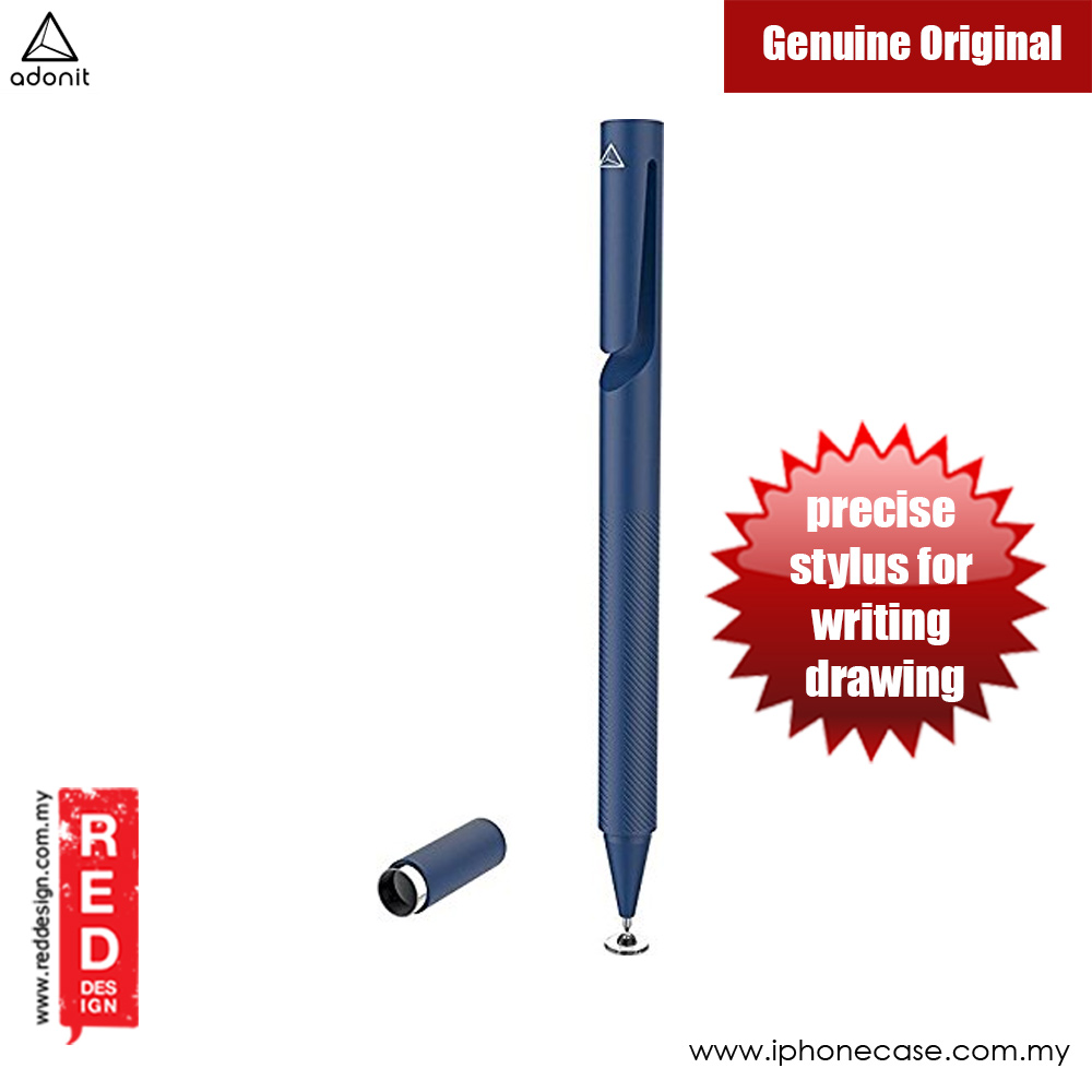 Picture of Adonit ADP3S Pro 3 Fine Point Precision Stylus for Touchscreen Devices (Midnight Blue) Apple iPad Pro 9.7- Apple iPad Pro 9.7 Cases, Apple iPad Pro 9.7 Covers, iPad Cases and a wide selection of Apple iPad Pro 9.7 Accessories in Malaysia, Sabah, Sarawak and Singapore