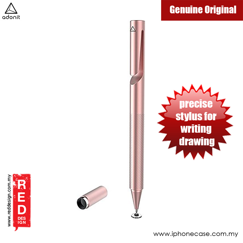 Picture of Adonit ADP3S Pro 3 Fine Point Precision Stylus for Touchscreen Devices (Rose Gold) Apple iPad 2- Apple iPad 2 Cases, Apple iPad 2 Covers, iPad Cases and a wide selection of Apple iPad 2 Accessories in Malaysia, Sabah, Sarawak and Singapore