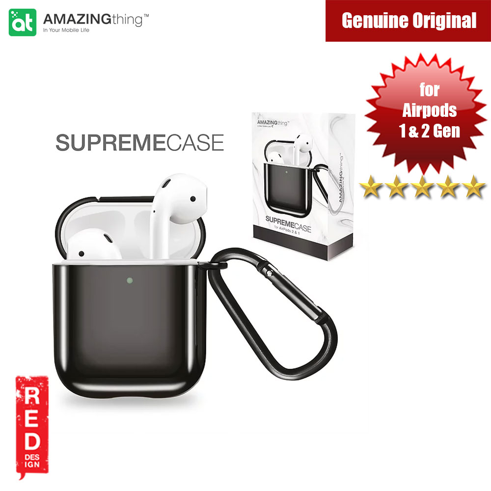 Picture of Amazingthing SupremeCase Solid for Airpods 1 Airpods 2 (Black) Apple Airpods 2- Apple Airpods 2 Cases, Apple Airpods 2 Covers, iPad Cases and a wide selection of Apple Airpods 2 Accessories in Malaysia, Sabah, Sarawak and Singapore