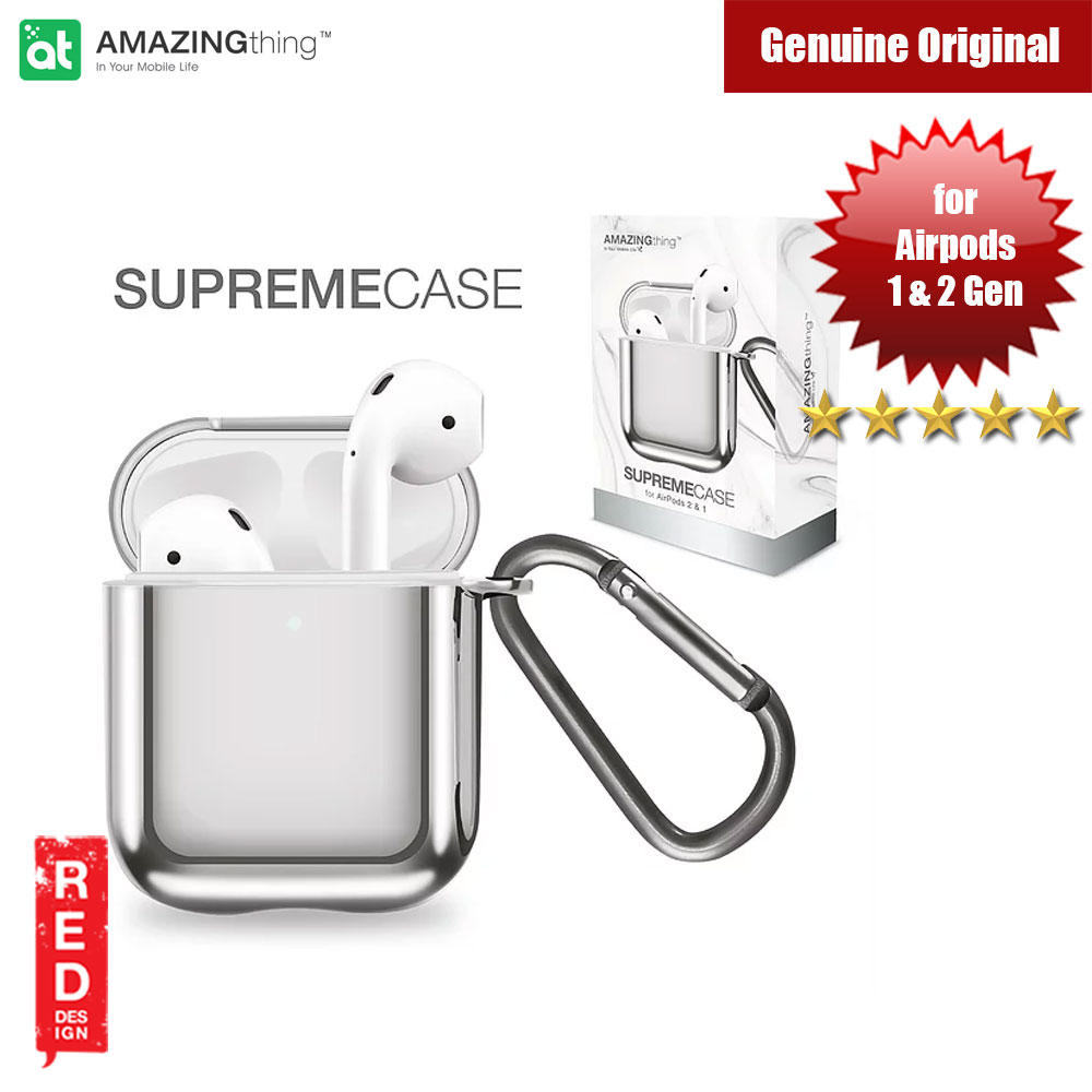 Picture of Amazingthing SupremeCase Solid for Airpods 1 Airpods 2 (Space Gray) Apple Airpods 2- Apple Airpods 2 Cases, Apple Airpods 2 Covers, iPad Cases and a wide selection of Apple Airpods 2 Accessories in Malaysia, Sabah, Sarawak and Singapore