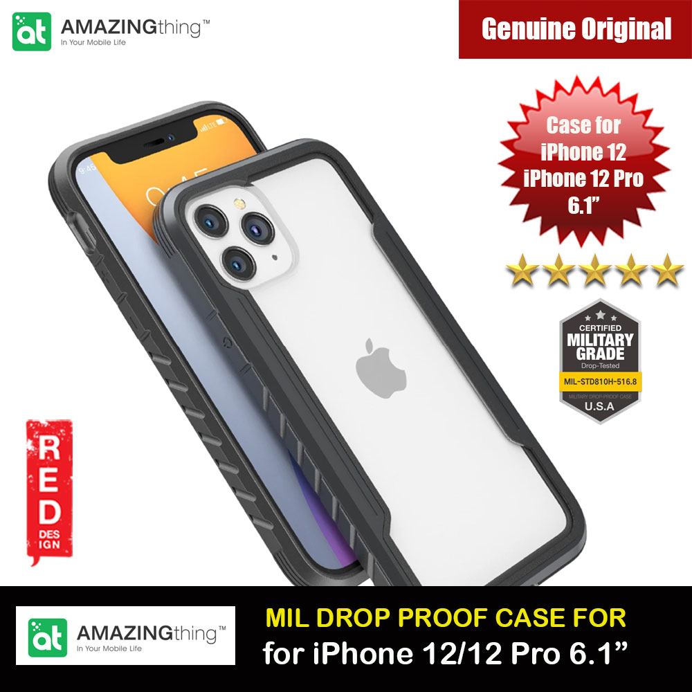 Picture of Amazingthing Military Drop Proof Case for iPhone 12 iPhone 12 Pro 6.1 (Silver) Apple iPhone 12 6.1- Apple iPhone 12 6.1 Cases, Apple iPhone 12 6.1 Covers, iPad Cases and a wide selection of Apple iPhone 12 6.1 Accessories in Malaysia, Sabah, Sarawak and Singapore