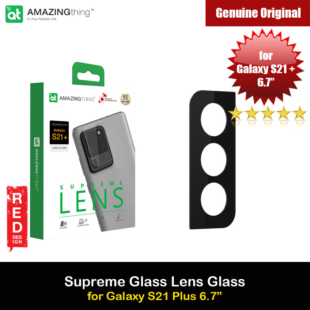 Picture of AmazingThing SupremeGlass Lens Glass Camera Lens Protector Protection Tempered Glass for Samsung Galaxy S21 Plus 6.7 Samsung Galaxy S21 Plus 6.7- Samsung Galaxy S21 Plus 6.7 Cases, Samsung Galaxy S21 Plus 6.7 Covers, iPad Cases and a wide selection of Samsung Galaxy S21 Plus 6.7 Accessories in Malaysia, Sabah, Sarawak and Singapore