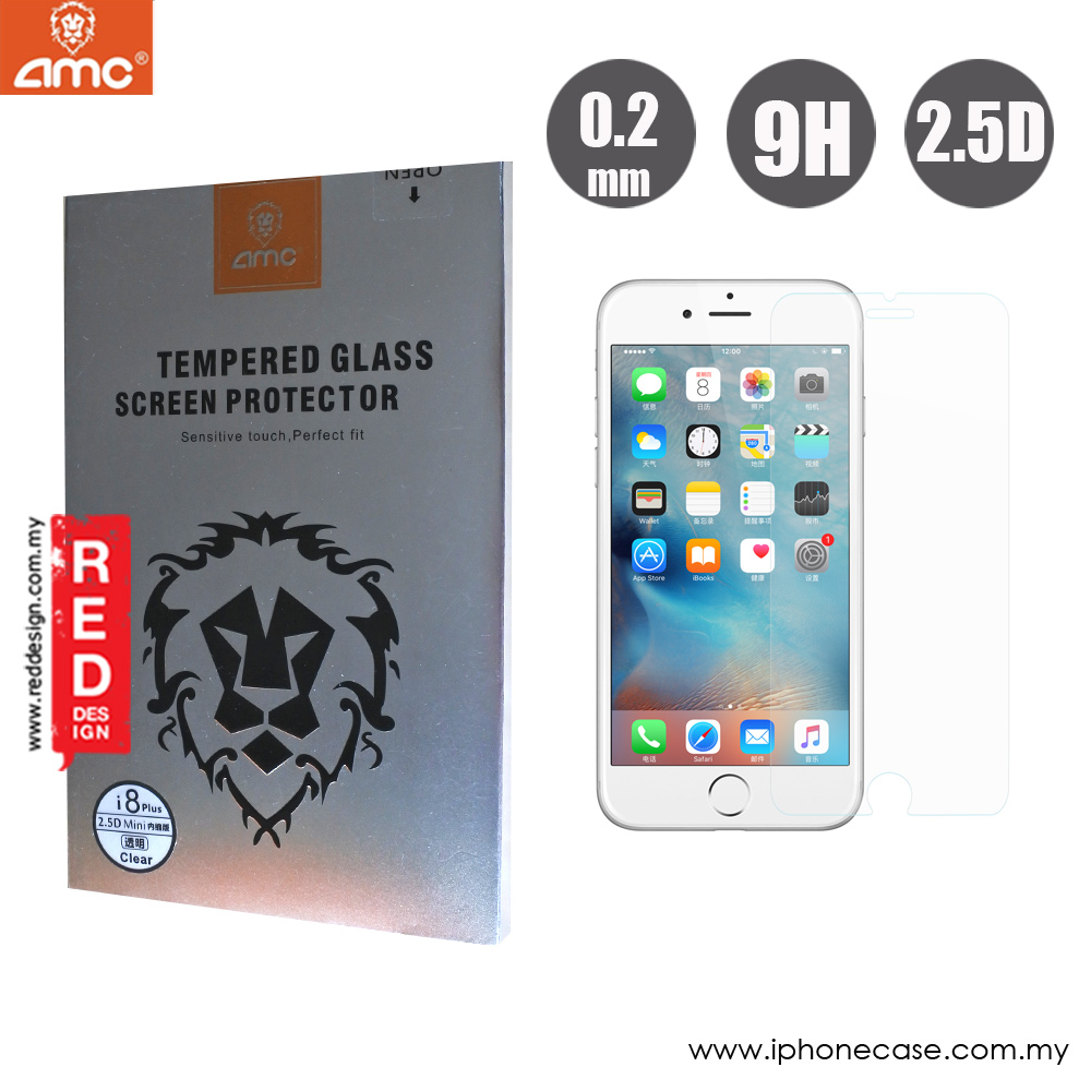 Picture of Apple iPhone 8 Plus  | AMC Premium Tempered Glass for Apple iPhone 6S Plus iPhone 7 Plus iPhone 8 Plus 5.5 (0.2mm Clear)