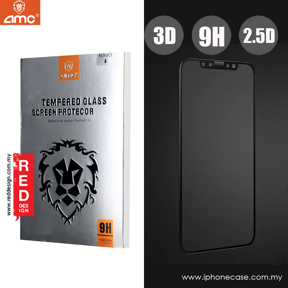 Picture of AMC 3D Full Screen Tempered Glass for Apple iPhone X  0.15 mm (Black) Apple iPhone X- Apple iPhone X Cases, Apple iPhone X Covers, iPad Cases and a wide selection of Apple iPhone X Accessories in Malaysia, Sabah, Sarawak and Singapore