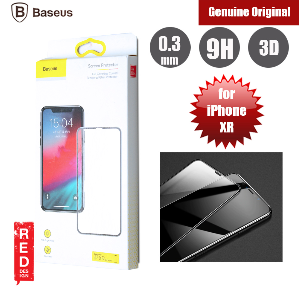 Picture of Baseus 3D Full Coverage Tempered Glass for Apple iPhone XR (Black) Apple iPhone XR- Apple iPhone XR Cases, Apple iPhone XR Covers, iPad Cases and a wide selection of Apple iPhone XR Accessories in Malaysia, Sabah, Sarawak and Singapore