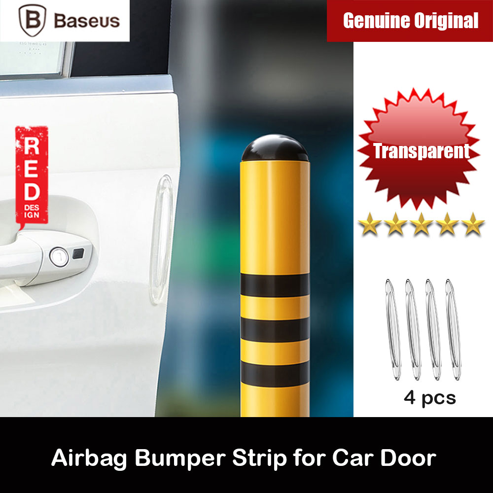 Picture of Baseus Airbag Bumper Strip Car Accessories for Car Door Rear Front Bumper (Transparent) Red Design- Red Design Cases, Red Design Covers, iPad Cases and a wide selection of Red Design Accessories in Malaysia, Sabah, Sarawak and Singapore