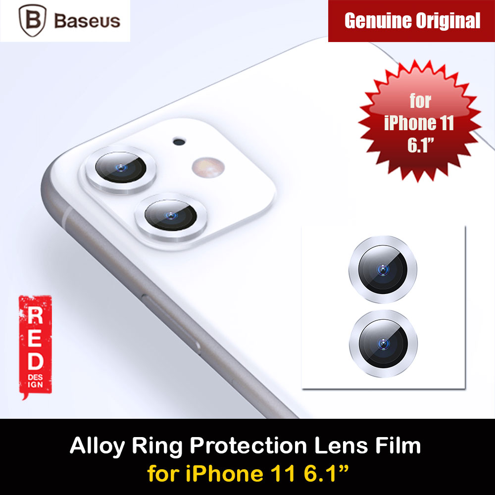Picture of Baseus Alloy Ring Lens Film Protector Independent Fully Cover Lens Film for iPhone 11 6.1  (Silver) Apple iPhone 11 6.1- Apple iPhone 11 6.1 Cases, Apple iPhone 11 6.1 Covers, iPad Cases and a wide selection of Apple iPhone 11 6.1 Accessories in Malaysia, Sabah, Sarawak and Singapore