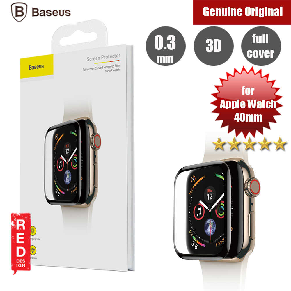 Picture of Baseus Full Screen Tempered Glass for Apple Watch 40mm (0.3mm Back ) Apple Watch 40mm- Apple Watch 40mm Cases, Apple Watch 40mm Covers, iPad Cases and a wide selection of Apple Watch 40mm Accessories in Malaysia, Sabah, Sarawak and Singapore