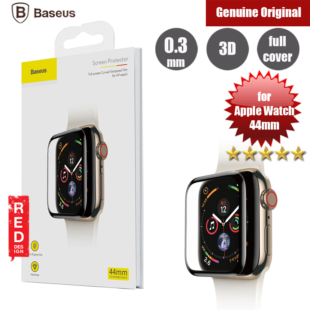 Picture of Baseus Full Screen Tempered Glass for Apple Watch 44mm (0.3mm Back ) Apple Watch 44mm- Apple Watch 44mm Cases, Apple Watch 44mm Covers, iPad Cases and a wide selection of Apple Watch 44mm Accessories in Malaysia, Sabah, Sarawak and Singapore