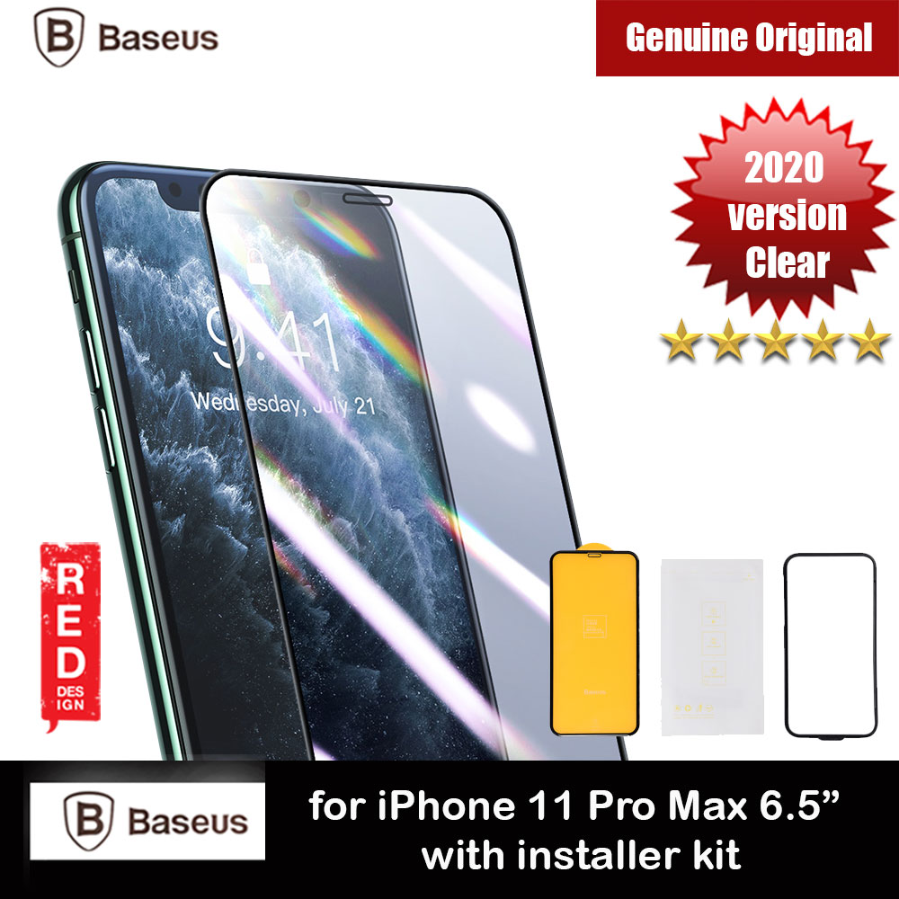 Picture of Baseus Stronger Full Screen Curve Composite Film Screen Protector Stronger Than Tempered Glass for Apple iPhone 11 Pro Max 6.5 iPhone XS Max (Black) Apple iPhone 11 Pro Max 6.5- Apple iPhone 11 Pro Max 6.5 Cases, Apple iPhone 11 Pro Max 6.5 Covers, iPad Cases and a wide selection of Apple iPhone 11 Pro Max 6.5 Accessories in Malaysia, Sabah, Sarawak and Singapore