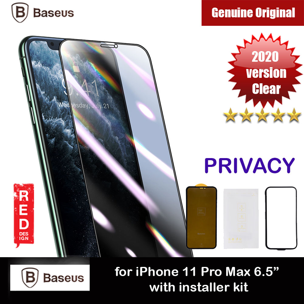 Picture of Baseus Stronger Full Screen Curve Composite Film Screen Protector Stronger Than Tempered Glass for Apple iPhone 11 Pro Max 6.5 iPhone XS Max (Privacy Black) Apple iPhone 11 Pro Max 6.5- Apple iPhone 11 Pro Max 6.5 Cases, Apple iPhone 11 Pro Max 6.5 Covers, iPad Cases and a wide selection of Apple iPhone 11 Pro Max 6.5 Accessories in Malaysia, Sabah, Sarawak and Singapore