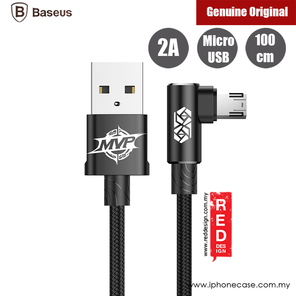 Picture of Baseus Elbow Type Micro USB Cable 100cm (Black)