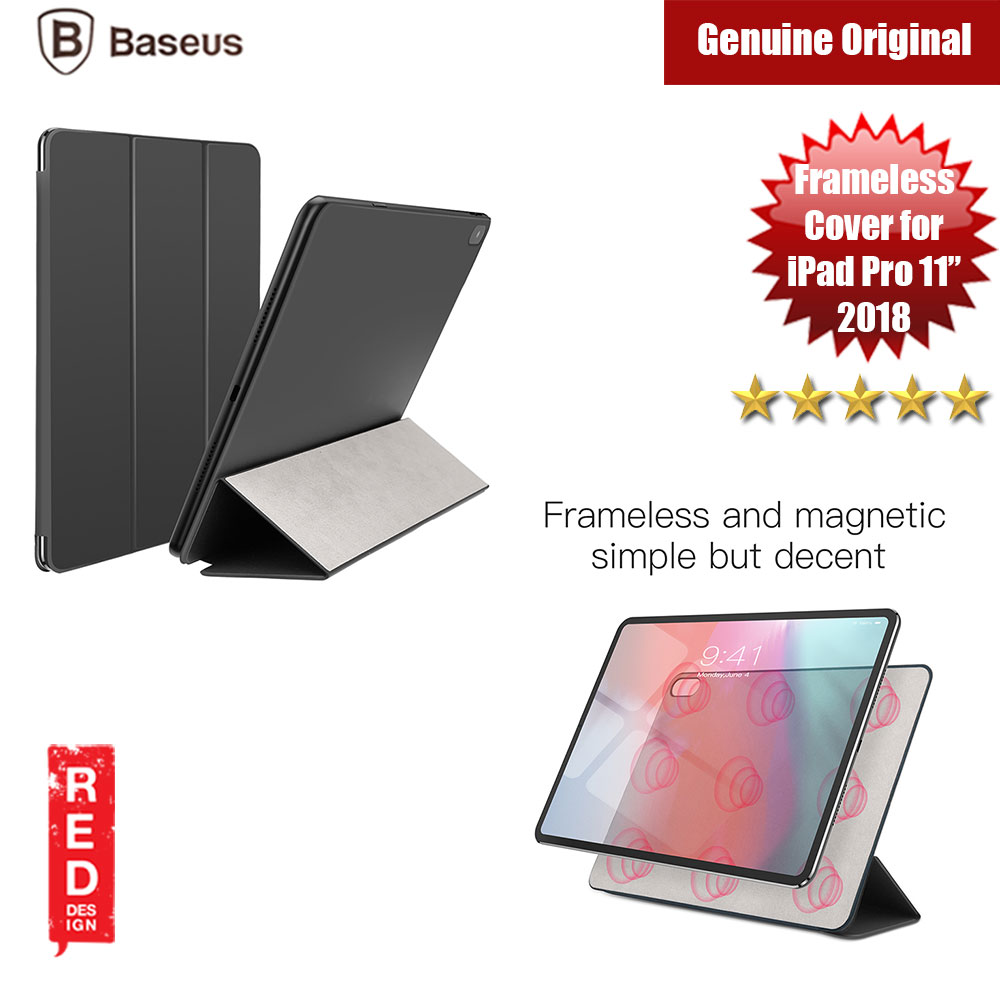 "Picture of Baseus Simplism Y Type Leather Case For iPad Pro 11"" 2018 (Black) Apple iPad Pro 11.0 2018- Apple iPad Pro 11.0 2018 Cases, Apple iPad Pro 11.0 2018 Covers, iPad Cases and a wide selection of Apple iPad Pro 11.0 2018 Accessories in Malaysia, Sabah, Sarawak and Singapore"