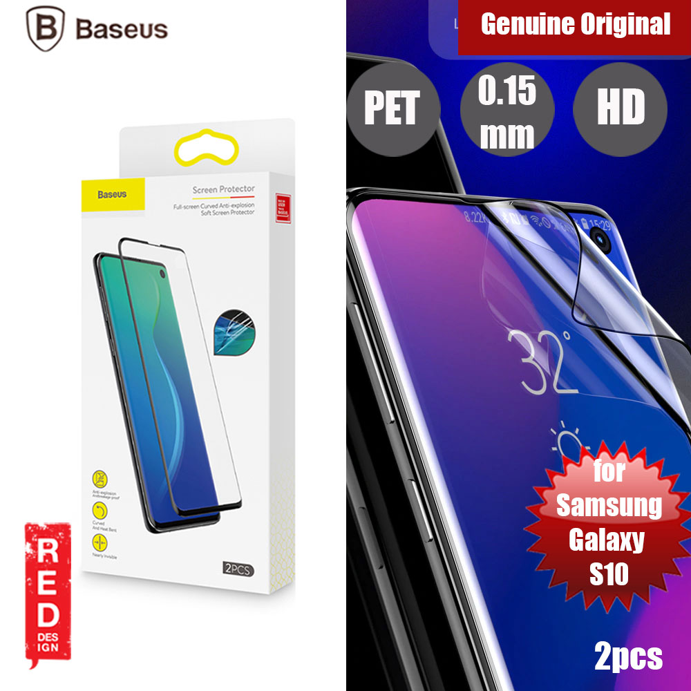 Picture of Baseus Full Screen Curved Anti Explosion Soft Screen Protector for Samsung Galaxy S10 iPhone Cases - iPhone 12, iPhone 12 Pro max, iPhone 11, iPhone 11 Pro Max, iPhone XS Max, iPhone X,iPhone SE,Galaxy Note 20 Ultra ,iPhone 8 Plus Cases Malaysia,iPad Air Pro Cases and a wide selection of Accessories in Malaysia, Sabah, Sarawak and Singapore.