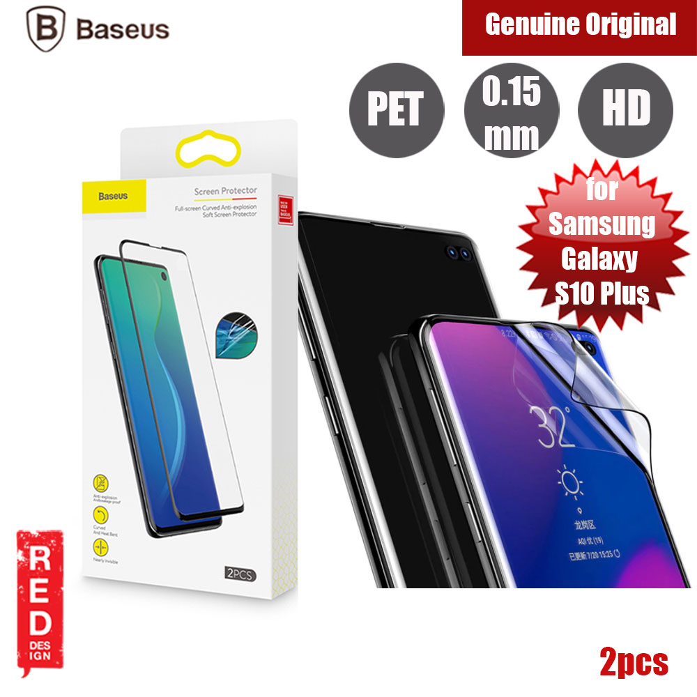 Picture of Baseus Full Screen Curved Anti Explosion Soft Screen Protector for Samsung Galaxy S10 Plus Samsung Galaxy S10 Plus- Samsung Galaxy S10 Plus Cases, Samsung Galaxy S10 Plus Covers, iPad Cases and a wide selection of Samsung Galaxy S10 Plus Accessories in Malaysia, Sabah, Sarawak and Singapore