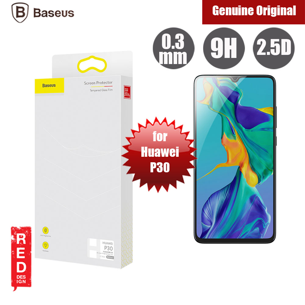 Picture of Baseus Full Coverage Tempered Glass for Huawei P30 (Black) Huawei P30- Huawei P30 Cases, Huawei P30 Covers, iPad Cases and a wide selection of Huawei P30 Accessories in Malaysia, Sabah, Sarawak and Singapore