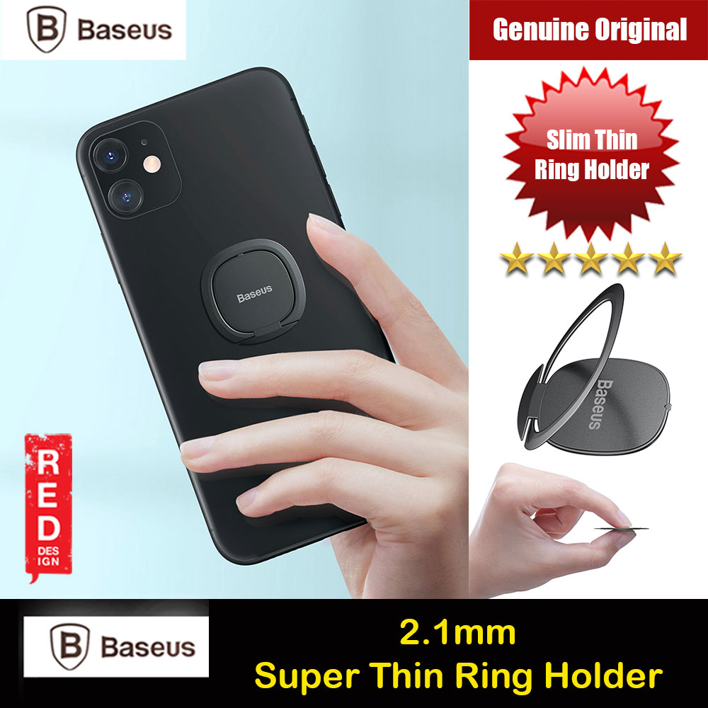 Picture of Baseus Super Thin Super Thin Ring Holder Universal Phone Grip Ring Hook (Tarnish) Red Design- Red Design Cases, Red Design Covers, iPad Cases and a wide selection of Red Design Accessories in Malaysia, Sabah, Sarawak and Singapore