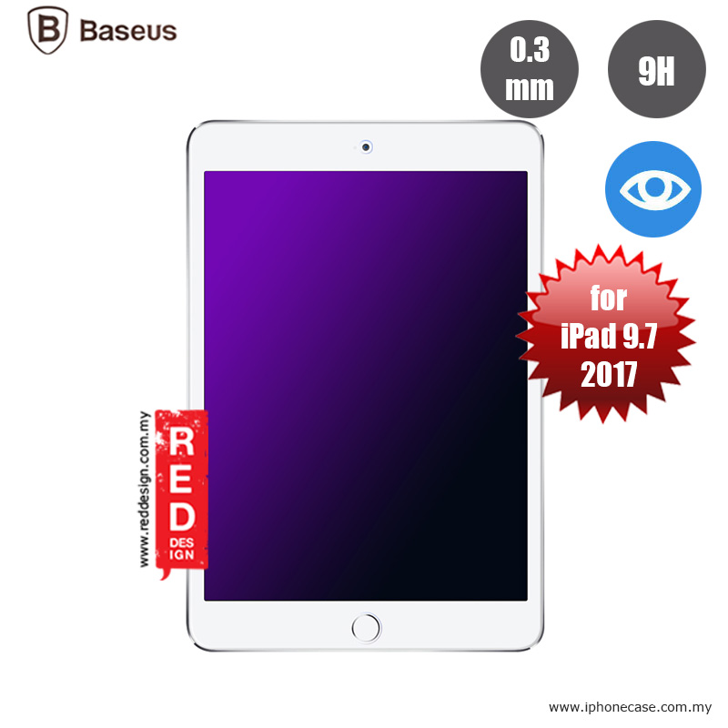Picture of Baseus Tempered Glass for Apple iPad 9.7 2017 2018 with Anti Blue Ray 0.3mm Apple iPad 9.7 2018- Apple iPad 9.7 2018 Cases, Apple iPad 9.7 2018 Covers, iPad Cases and a wide selection of Apple iPad 9.7 2018 Accessories in Malaysia, Sabah, Sarawak and Singapore