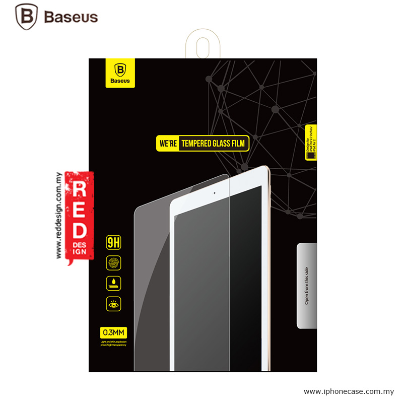 Picture of Apple iPad Pro 9.7  | Baseus Tempered Glass for Apple iPad Air 2 iPad Pro 9.7 - 0.3mm 2.5D Curve