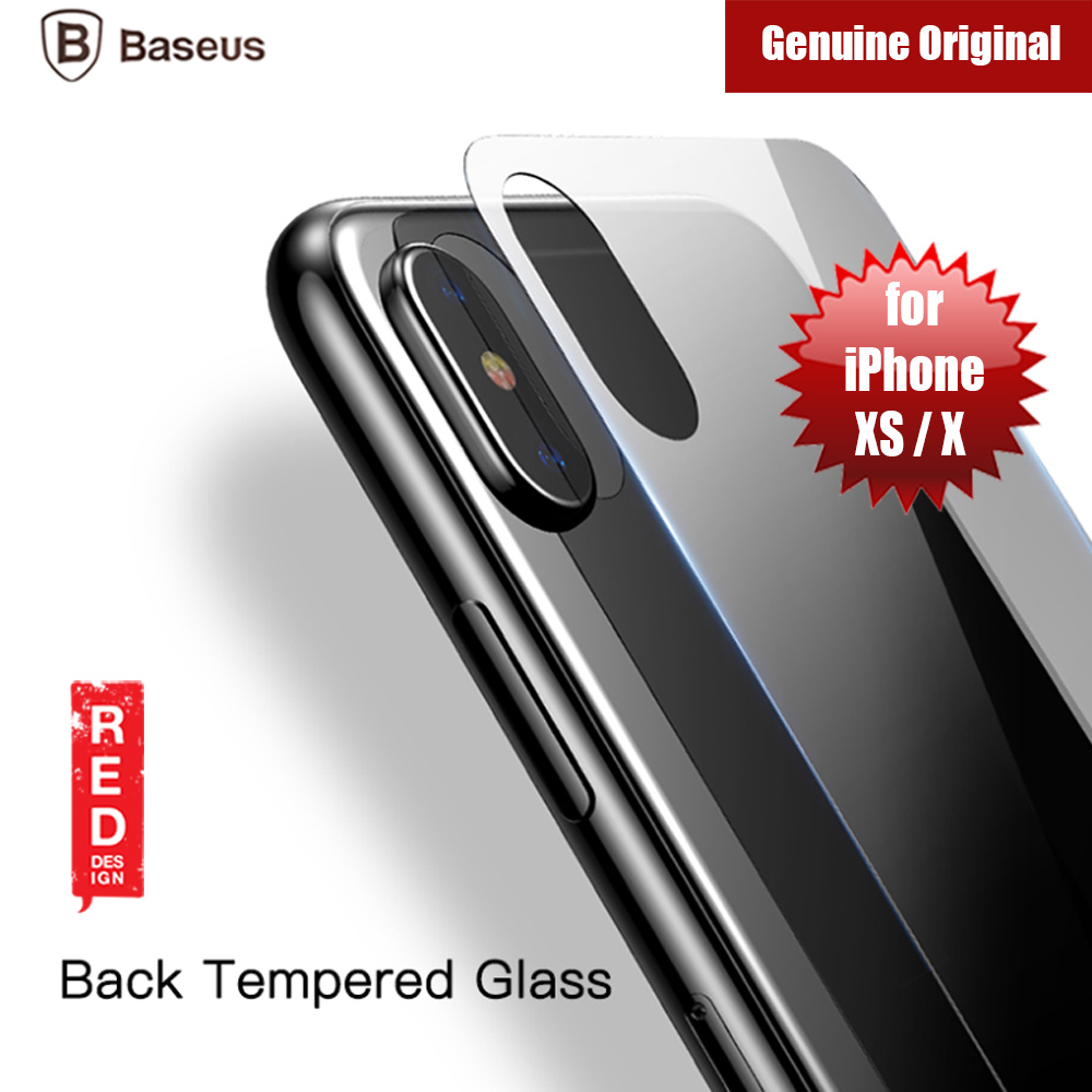 Picture of Baseus Back Side Tempered Glass for Apple iPhone XS iPhone X (0.3mm Clear) Apple iPhone X- Apple iPhone X Cases, Apple iPhone X Covers, iPad Cases and a wide selection of Apple iPhone X Accessories in Malaysia, Sabah, Sarawak and Singapore