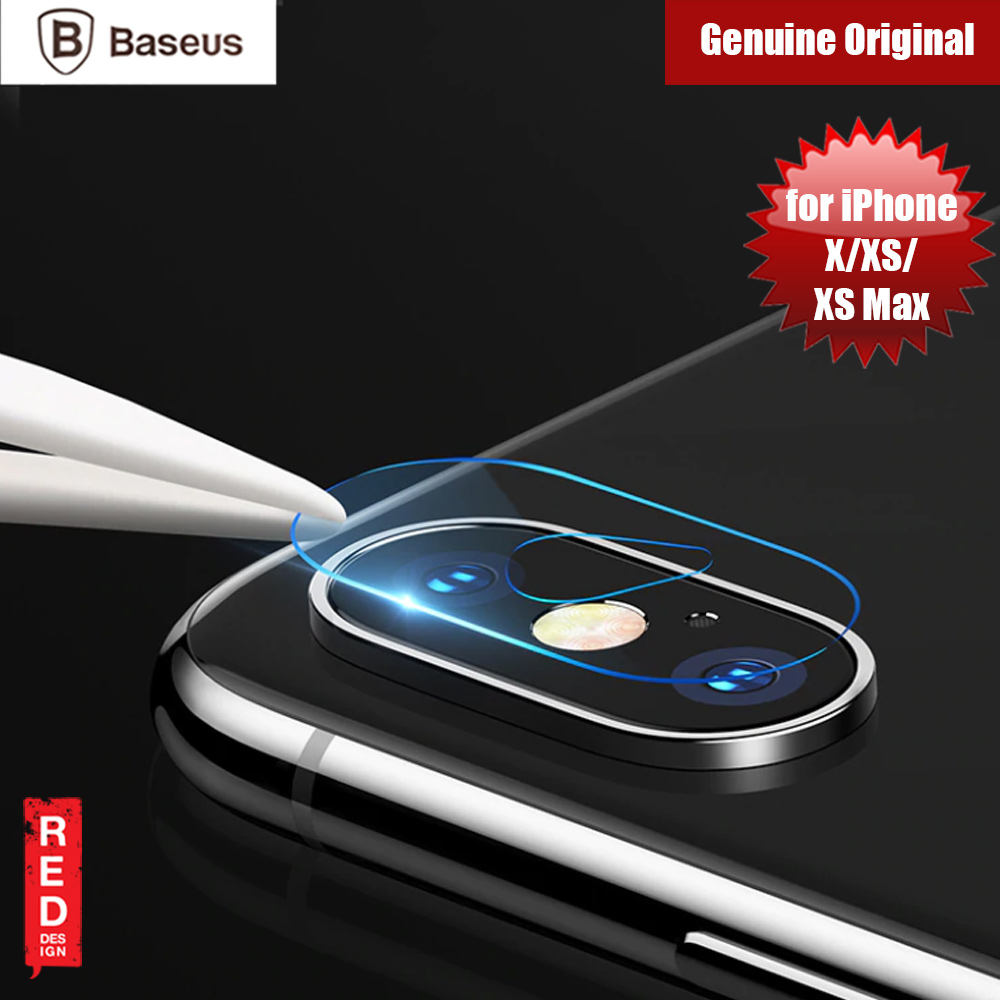 Picture of Baseus Screen Protector Camera Lens Glass Film for Apple iPhone XS, iPhone X, iPhone XS Max (0.2mm) Apple iPhone X- Apple iPhone X Cases, Apple iPhone X Covers, iPad Cases and a wide selection of Apple iPhone X Accessories in Malaysia, Sabah, Sarawak and Singapore
