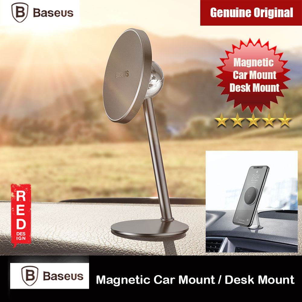 Picture of Baseus Little Sun Series Magnetic 360 Degree Rotatable Dashboard Car Mount Desktop Mount Online Class Live Class Phone Stand (Black) Red Design- Red Design Cases, Red Design Covers, iPad Cases and a wide selection of Red Design Accessories in Malaysia, Sabah, Sarawak and Singapore