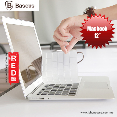 "Picture of Baseus Keyboard Protective Film for Macbook 12"" - Clear Apple Macbook 12""- Apple Macbook 12"" Cases, Apple Macbook 12"" Covers, iPad Cases and a wide selection of Apple Macbook 12"" Accessories in Malaysia, Sabah, Sarawak and Singapore"