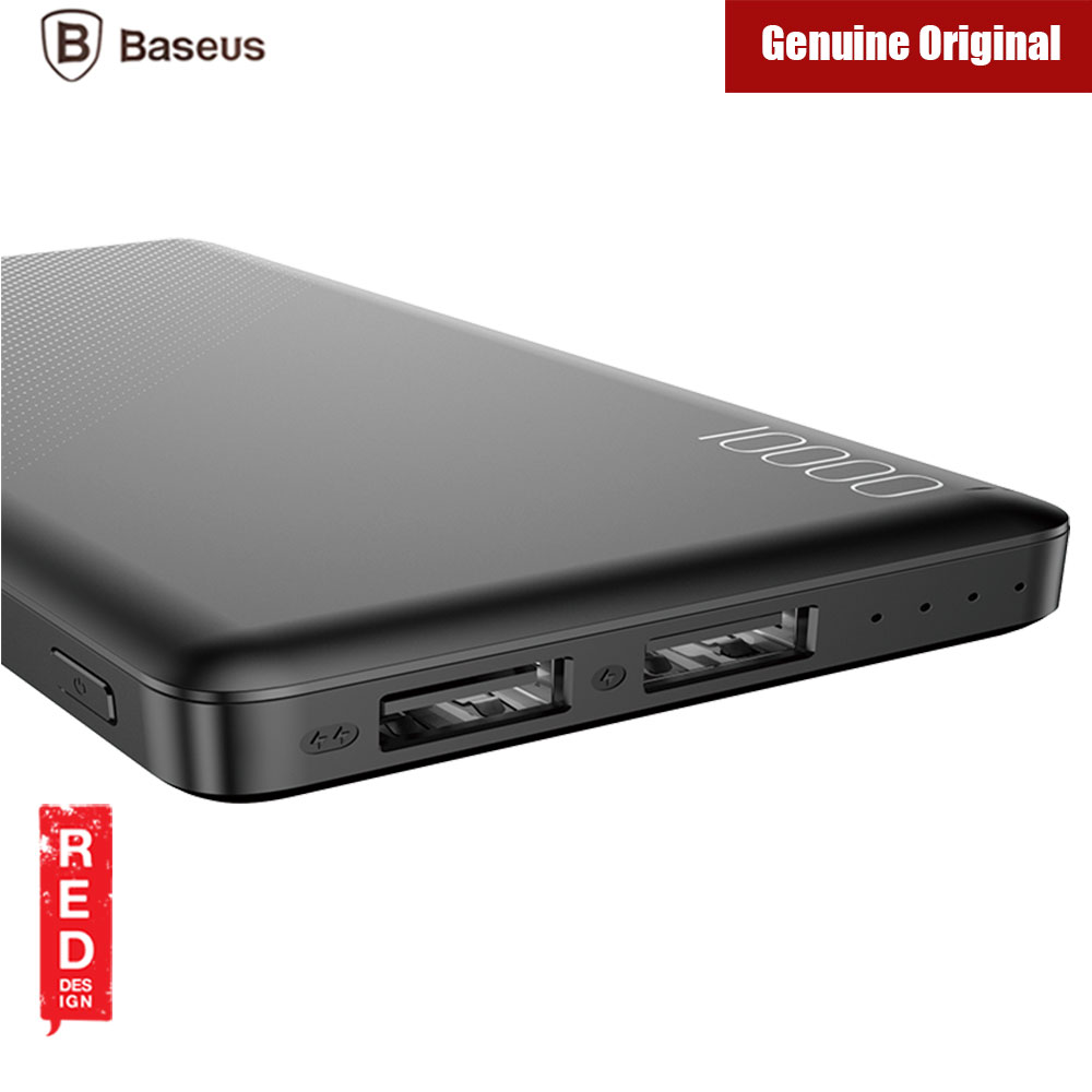 Picture of Baseus Mini CU 2 USB Output 2.1A 10000mAh Fast Charge Power Bank (Black)