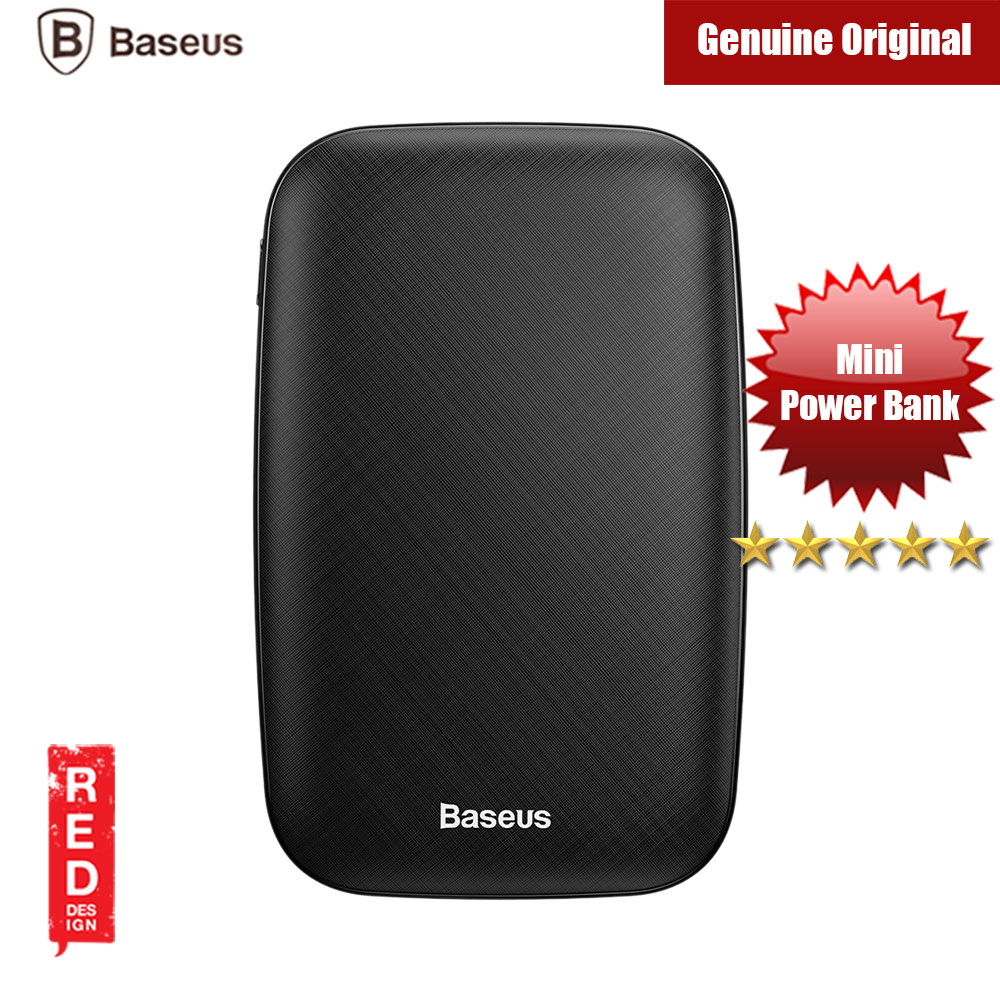 Picture of Baseus Mini Q USB Output 2.1A 10000mAh Fast Charge Power Bank (Black)