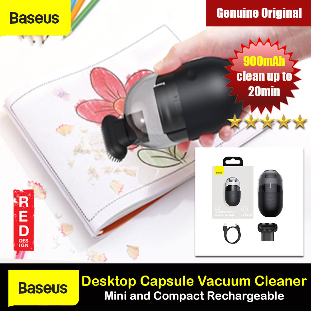 Picture of Baseus Mini Compact Vacuum Design for Desktop Cleaning Pencil Chip Pencil Eraser Dust Debris Cleaing Rechargable vacuum Portable vacuum for Students Kids Red Design- Red Design Cases, Red Design Covers, iPad Cases and a wide selection of Red Design Accessories in Malaysia, Sabah, Sarawak and Singapore
